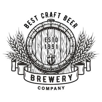 Barril de madeira para bar de uísque de vinho de cerveja