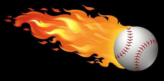 Basebol em chamas