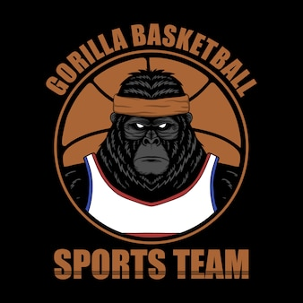 Basquete gorila