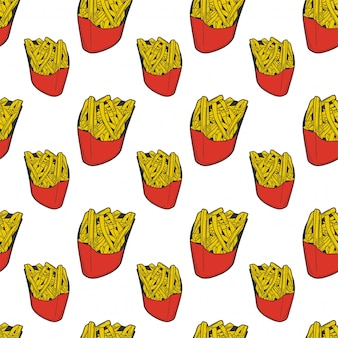 Batatas fritas.