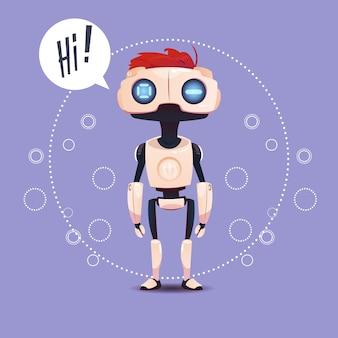 Bate-papo bot, robô virtual elemento de assistência de site ou aplicações móveis, inteligência artificial