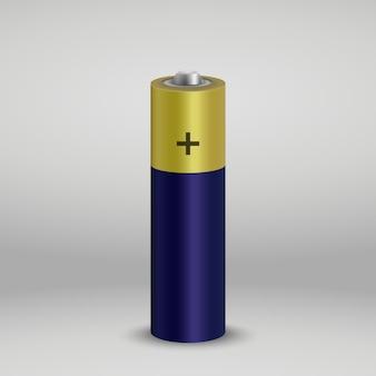 Bateria alcalina realista.