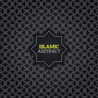 Beautiful curvy islamic abstract background patterns