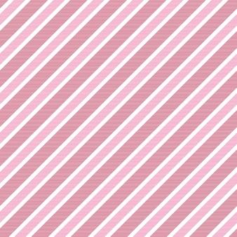 Bebê menina cor de rosa fundo listrado