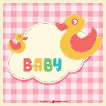 Bebê patos desenho animado