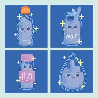 Beber coleta de água