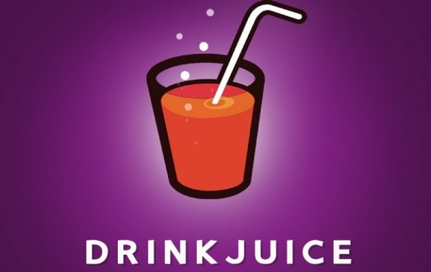 Beber suco logotipo