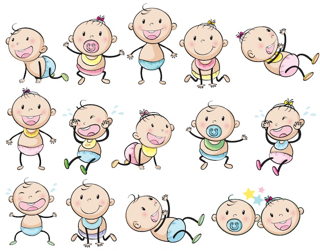 Bebês brincalhão