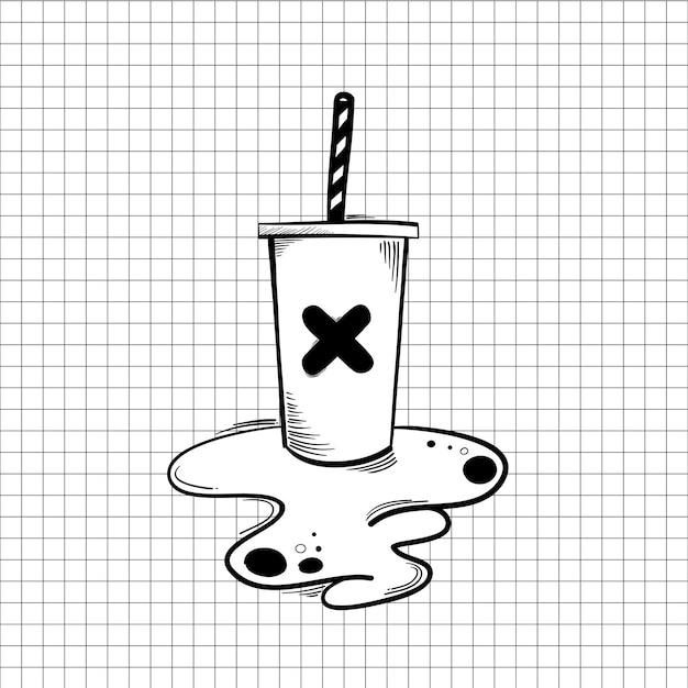 Bebida derramada