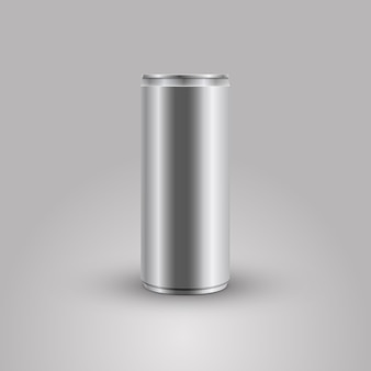 Bebida energética pode vector a ilustração de maquete
