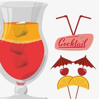 Bebida, ícone, desenho
