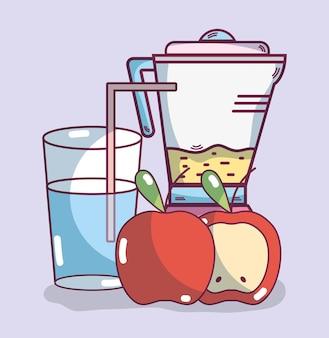 Bebida smoothie de frutas