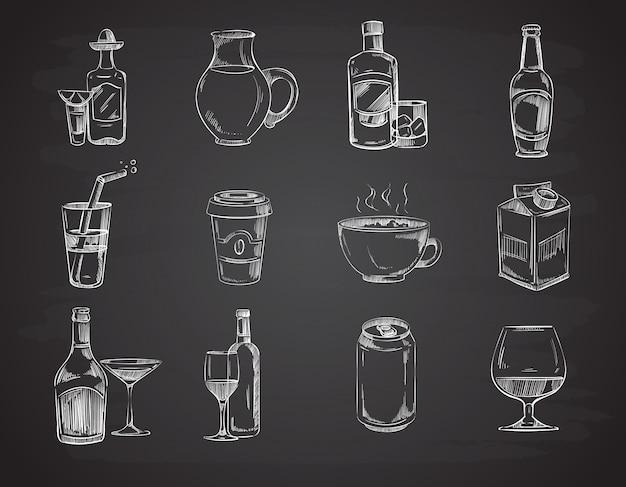 Bebidas de doodle