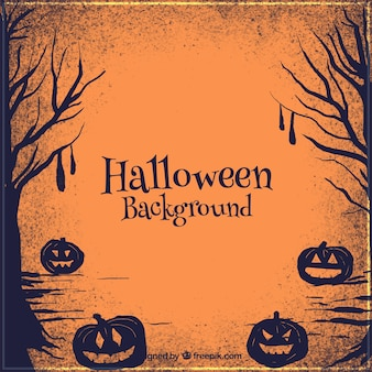 Beco assustador de halloween