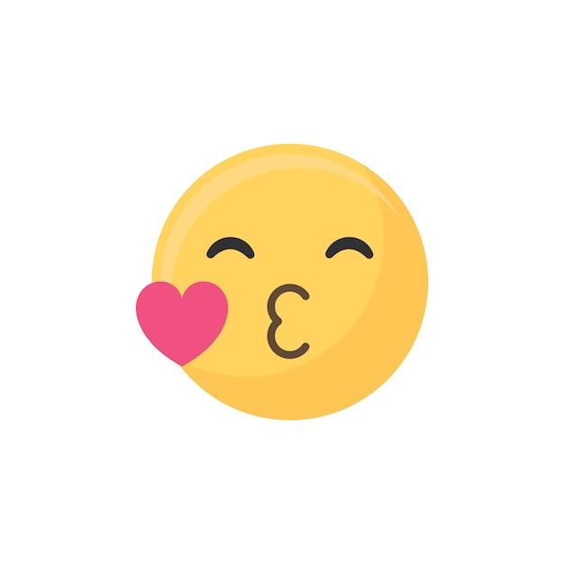 Beijo emoji
