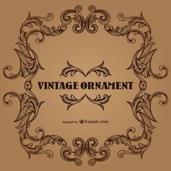 Beira do vintage design frames