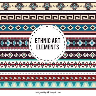 Beiras decorativas étnicos