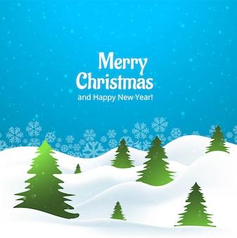 Bela árvore criativa de feliz natal