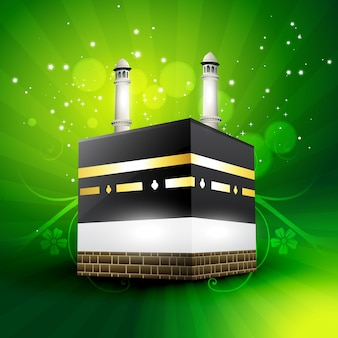 Bela qaaba sharif ilustração vetorial