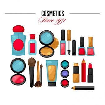 Beleza de ferramentas cosméticas