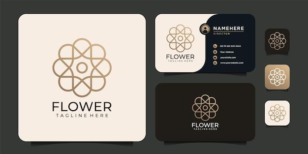 Beleza, luxo, minimalista, flor, elegância, floral, salão, ioga