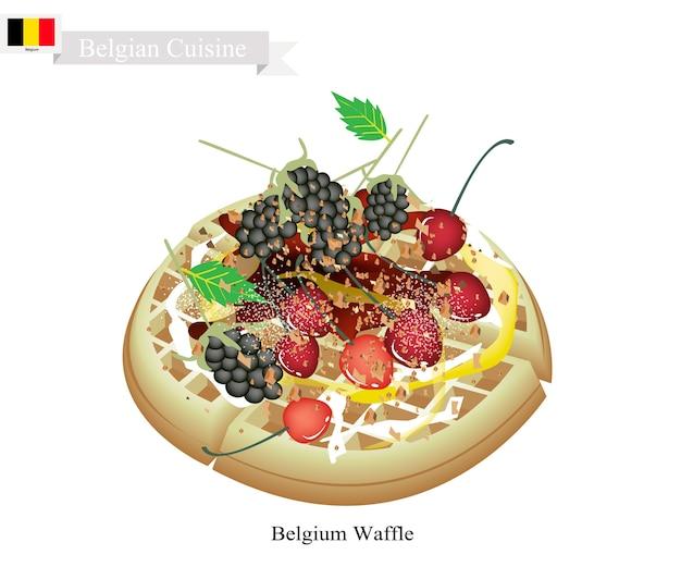 Bélgica waffle