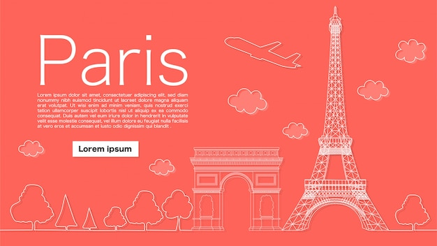 Belo banner de paris