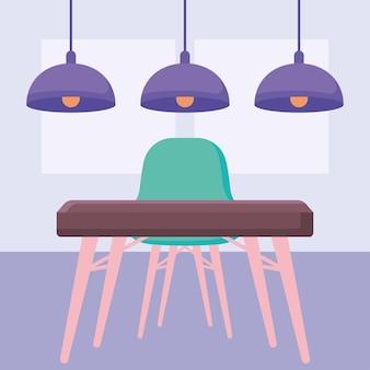 Belo design de mesa