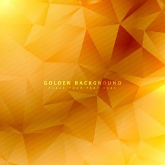 Belo fundo dourado ilustração projeto Vetor grátis