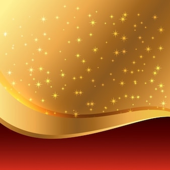 Belo fundo dourado