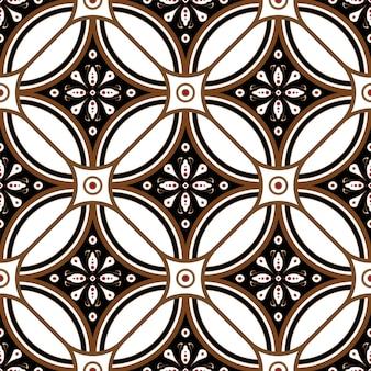Belo padrão de batik