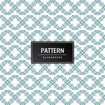 Belo padrão decorativo abstrato