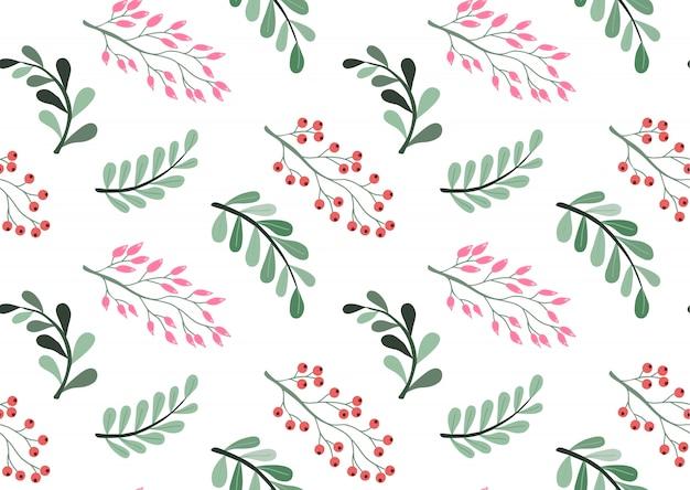 Belo padrão floral