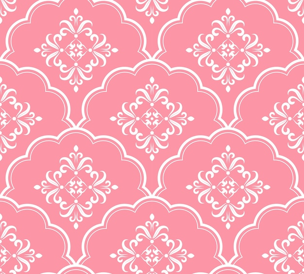 Belo padrão rosa