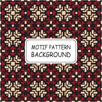Belo padrão sem emenda com estilo pixel