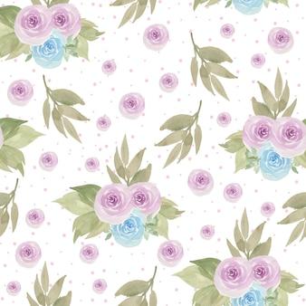 Belo padrão sem emenda floral