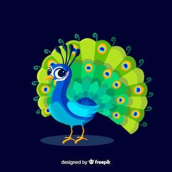 Belo pavão