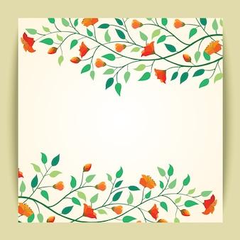 Belo vetor ilustração flor fundo