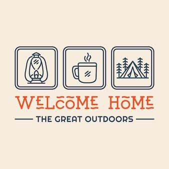 Bem-vindo a casa