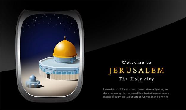 Bem-vindo a jerusalém