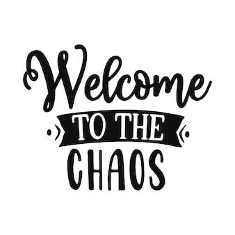 Bem-vindo ao caos