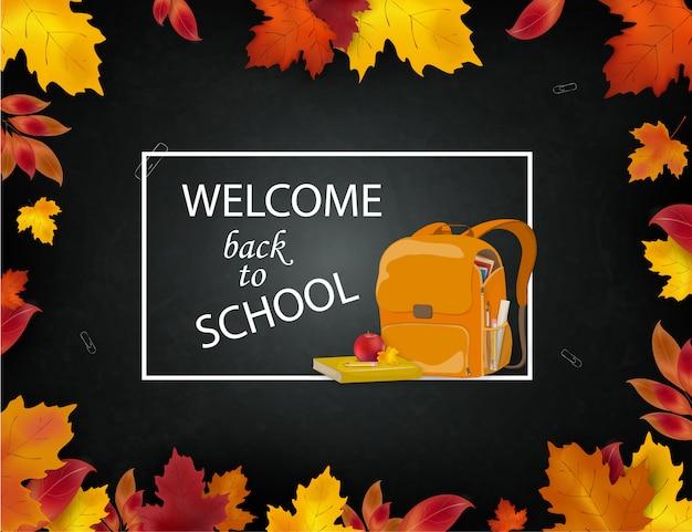 Bem-vindo de volta ao conceito de escola.