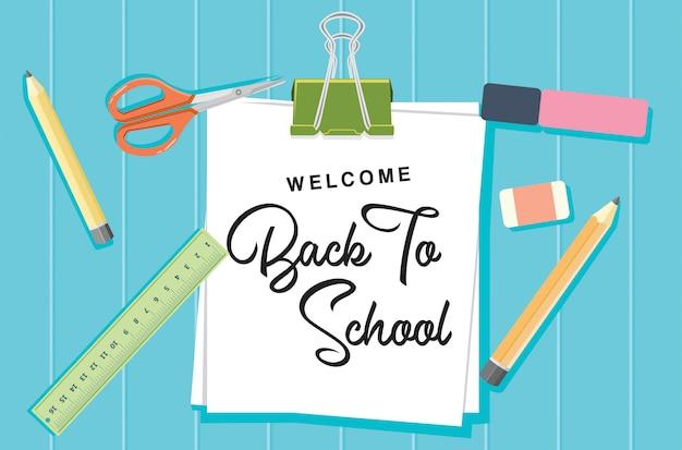 Bem-vindo de volta ao conceito de escola