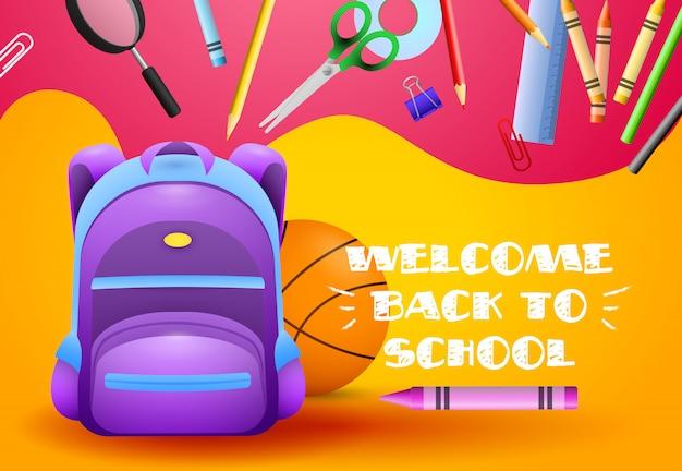Bem-vindo de volta ao design da escola