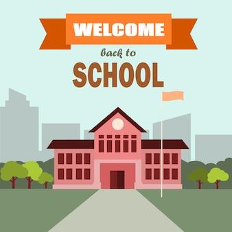 Bem-vindo escola.