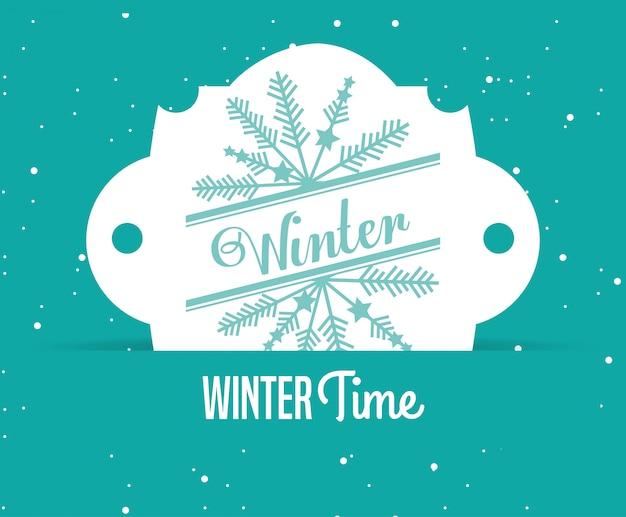 Bem-vindo inverno design