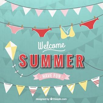 Bem vindo verão