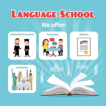 Benefícios de estudar em uma escola de idiomas no exterior