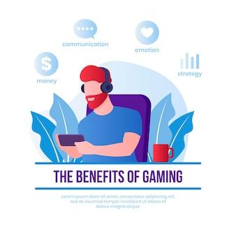 Benefícios de jogar videogame