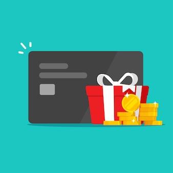 Benefícios de presente de recompensa em dinheiro